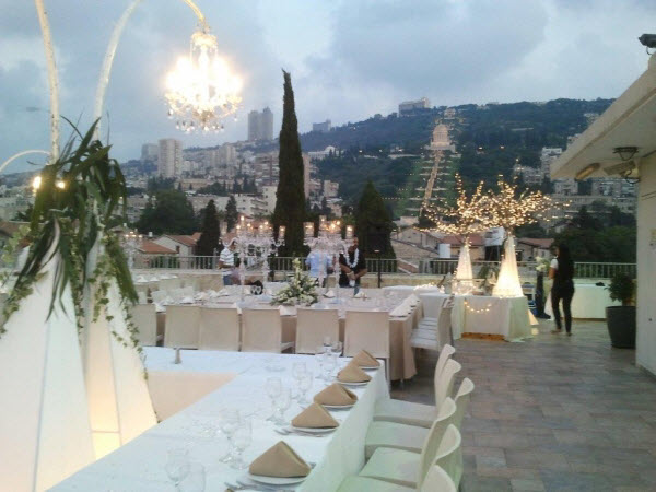 Events Roof - Colony Hotel Haifa